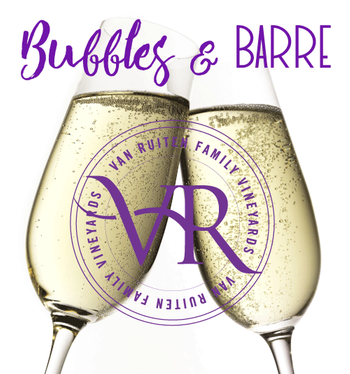 Bubbles & Barre-May 24th